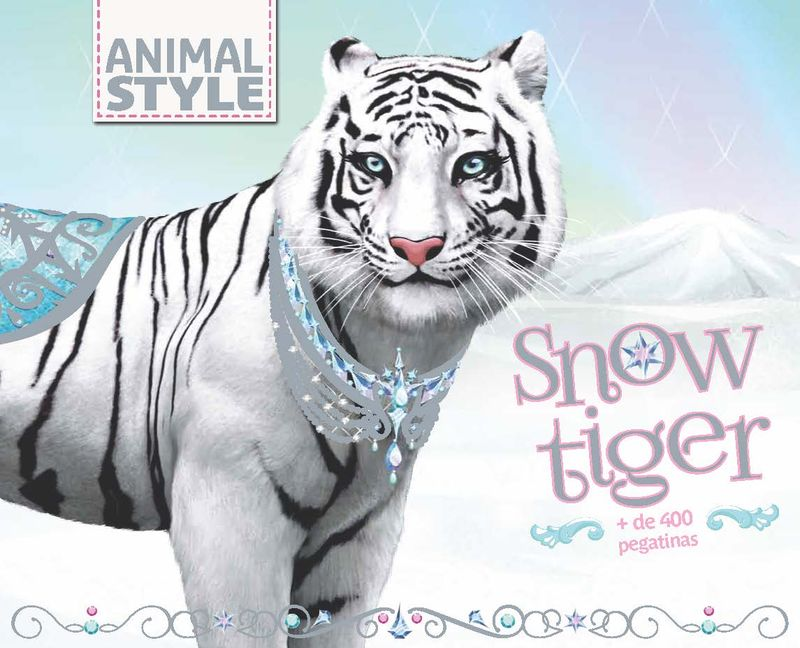 Snow Tiger: portada