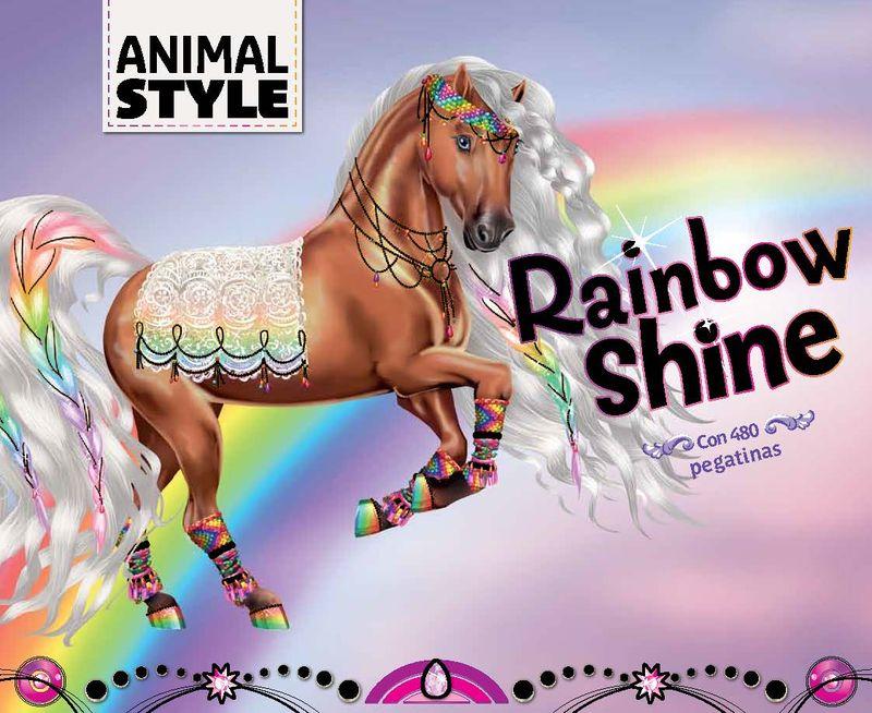Rainbow Shine: portada