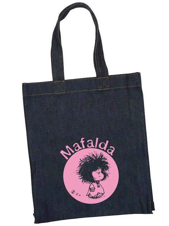 Bolsa vaquera Mafalda: portada