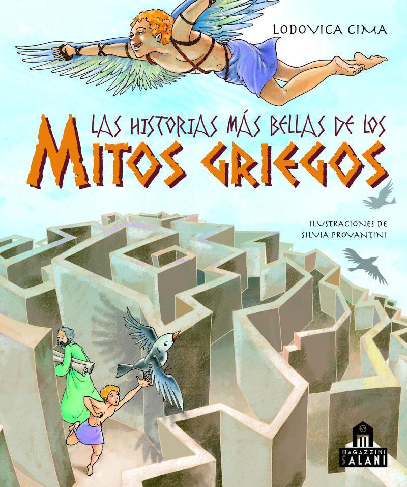 Las historias m�s bellas de los mitos griegos: portada