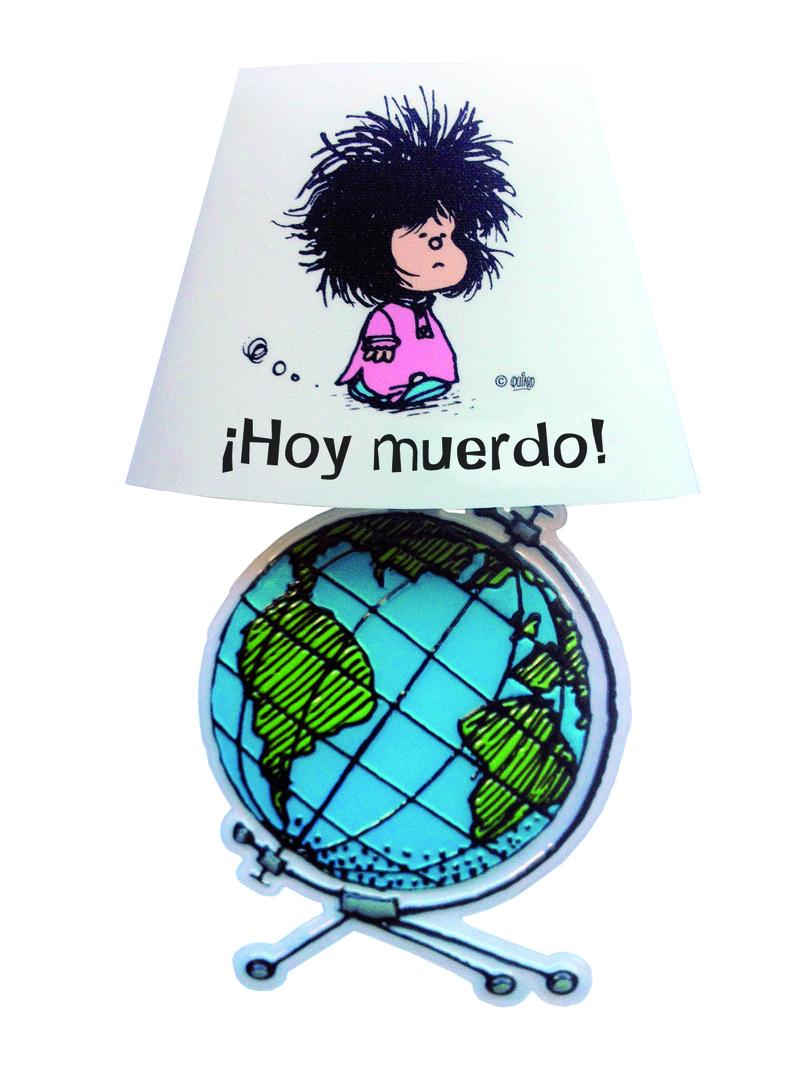 Lámpara adhesiva Mafalda: portada