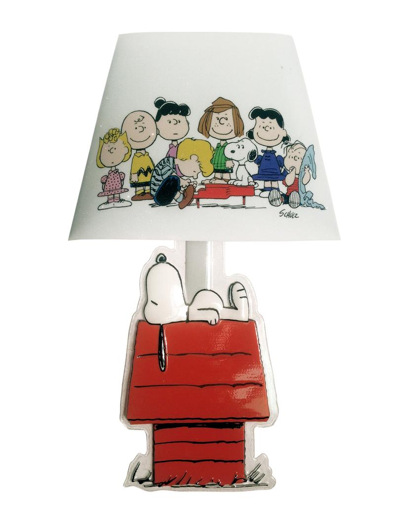 Lámpara adhesiva Snoopy: portada