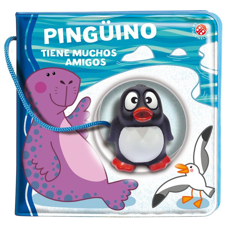 Pingüino tiene muchos amigos: portada
