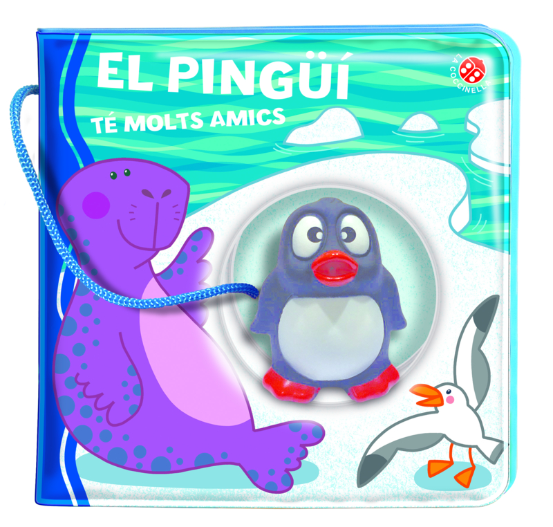 El pingüí té molts amics: portada