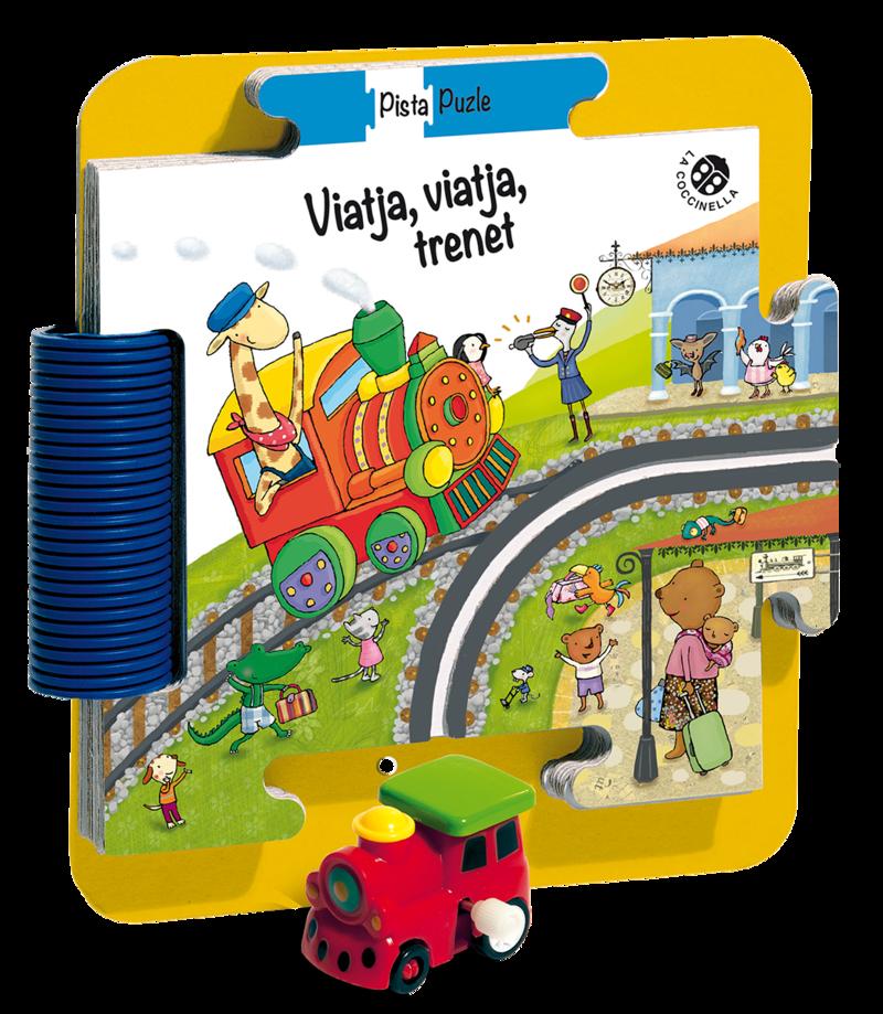 Viatja, viatja, trenet!: portada