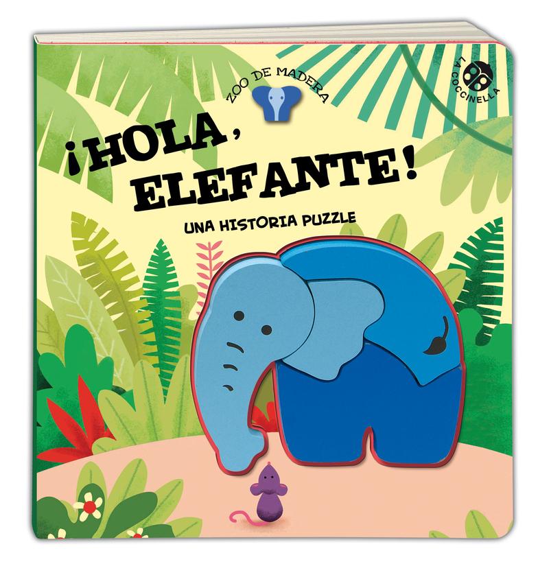 ¡Hola, Elefante! Una historia con puzzle: portada