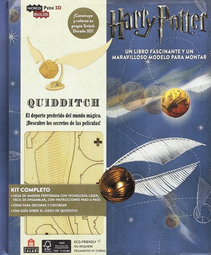 Incredibuilds Harry Potter Quidditch: portada