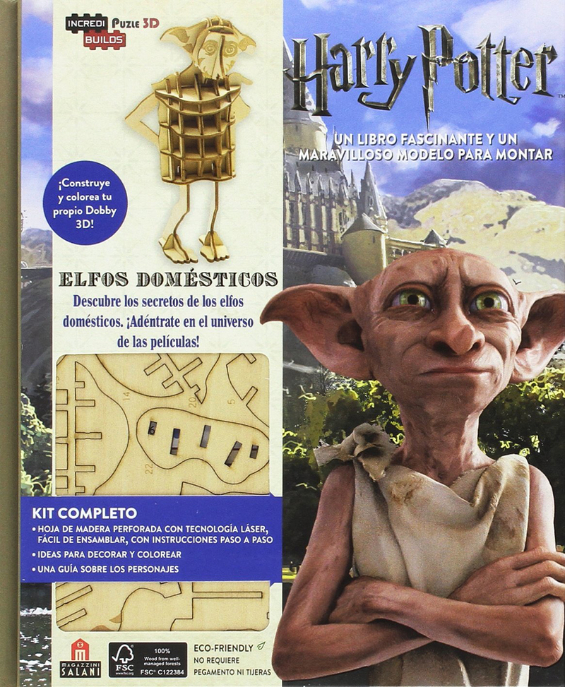 Incredibuilds Harry Potter Elfos domésticos: portada