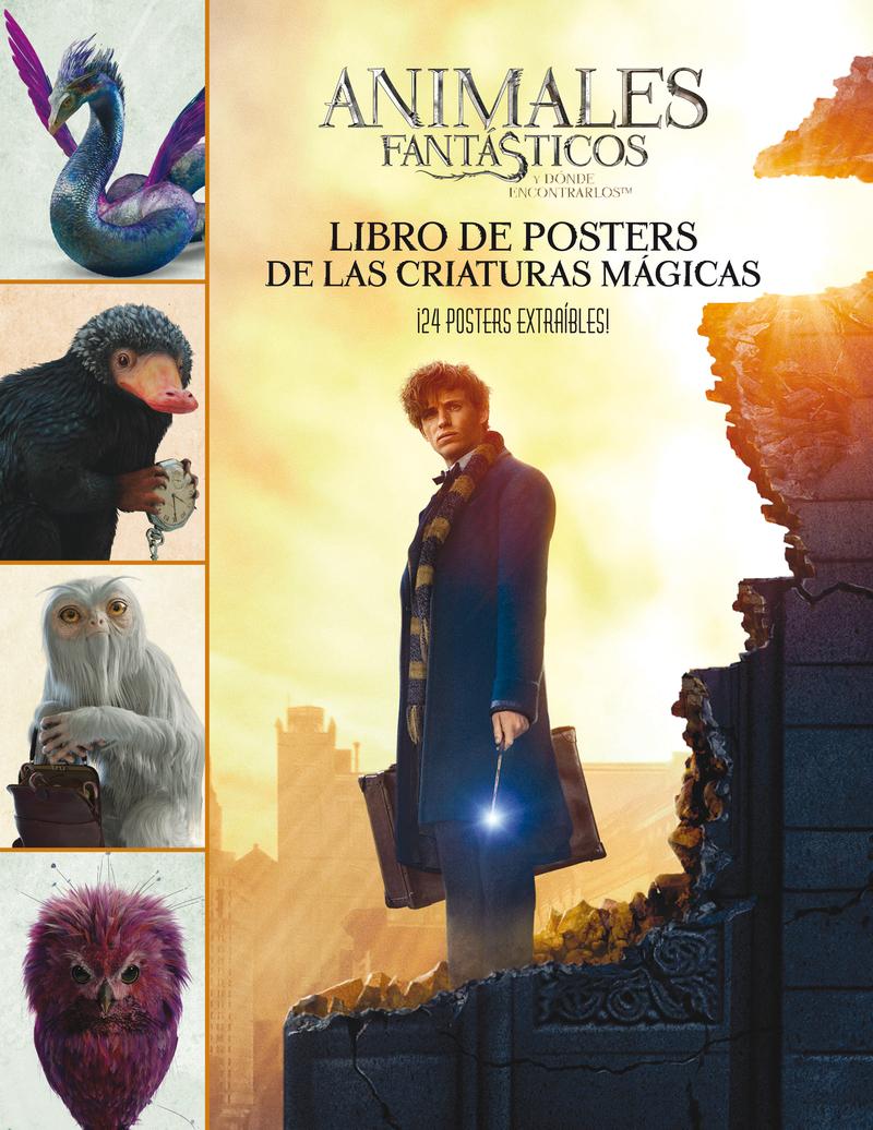 Animales fantásticos Libro de posters: portada