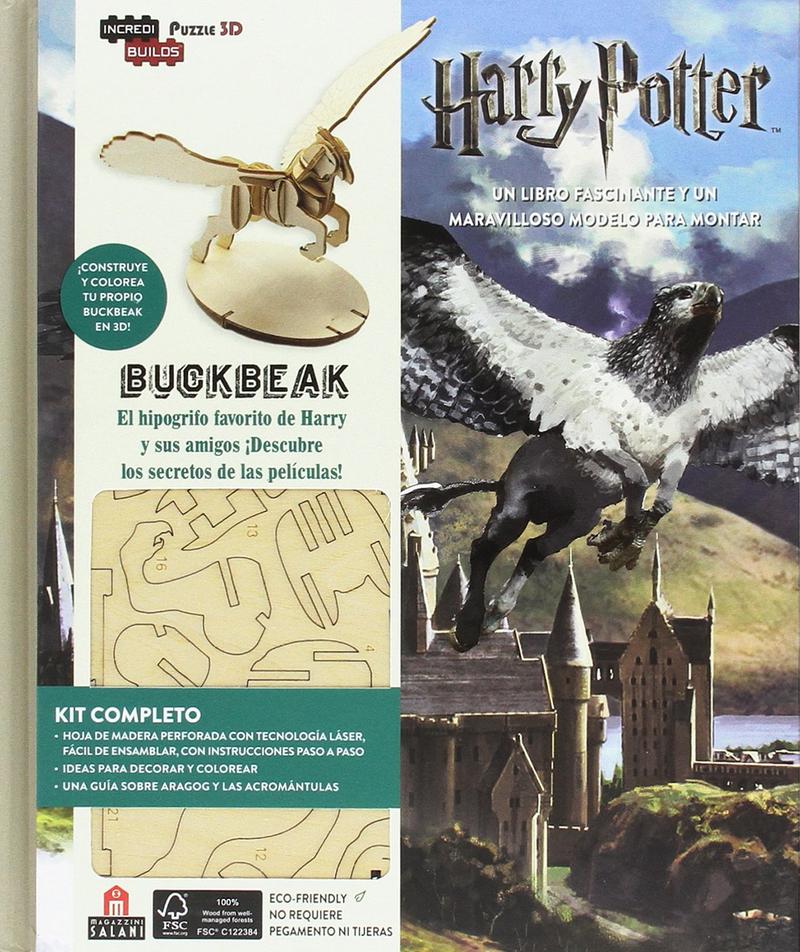 Incredibuilds Harry Potter Buckbeak: portada