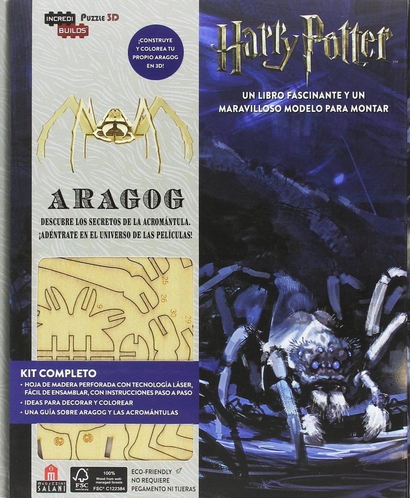 Incredibuilds Harry Potter Aragog: portada