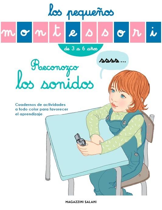 Los pequeños Montessori. Reconozco los sonidos: portada