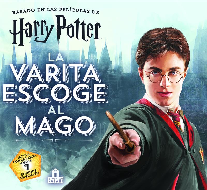 Harry Potter. La varita escoge al mago: portada
