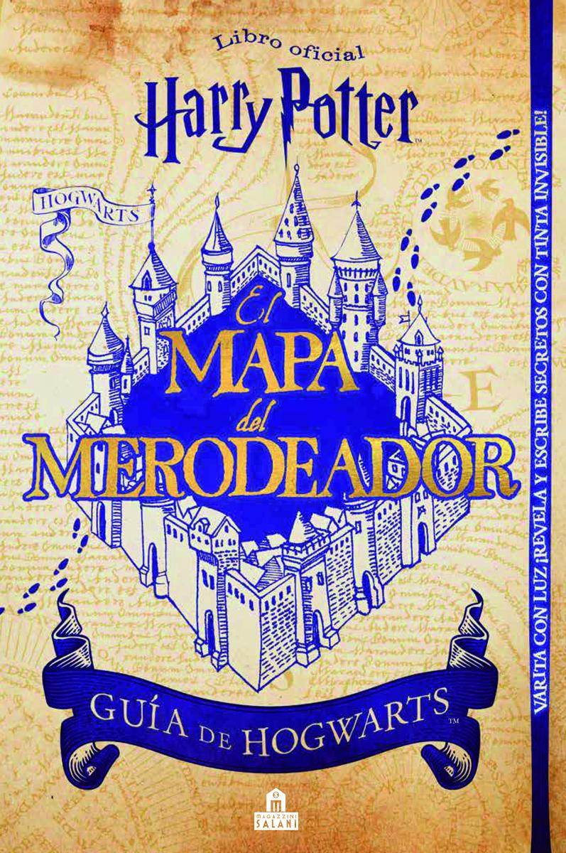 Harry Potter. Mapa del merodeador: portada