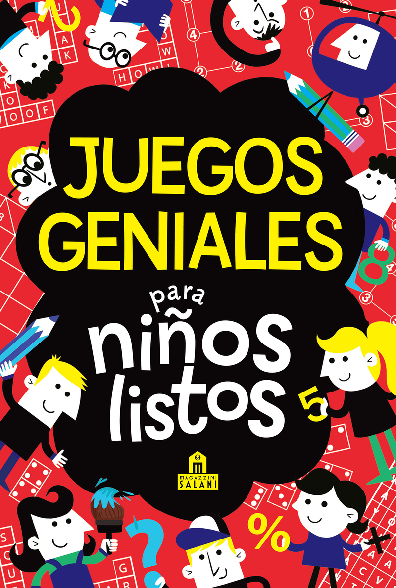 Juegos geniales para niños listos: portada