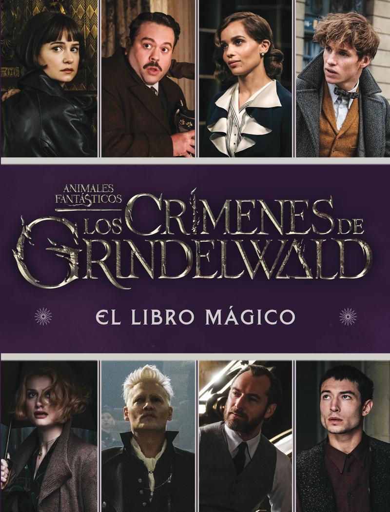 Los Crímenes de Grindelwald. El libro mágico: portada
