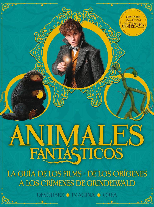 Animales Fantásticos. Los Crímenes de Grindelwald. Guía: portada