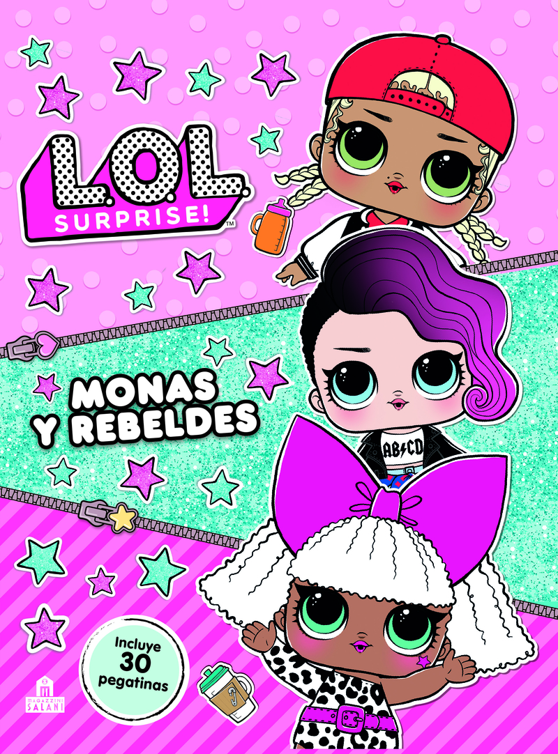 LOL  Surprise! Monas y rebeldes: portada