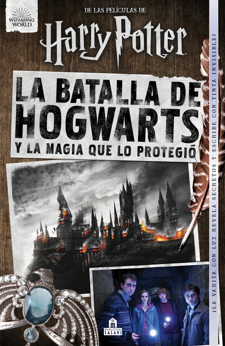 La Batalla de Hogwarts: portada