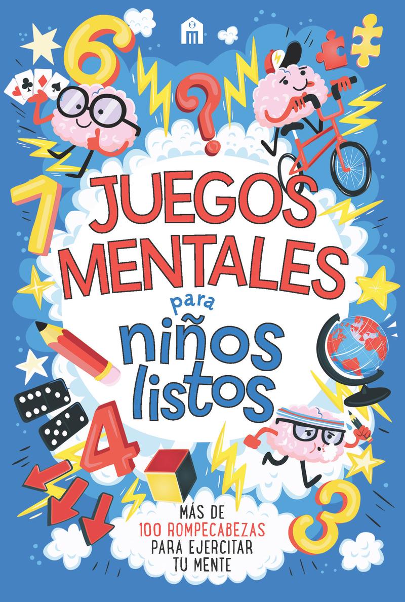 Juegos mentales para niños listos: portada