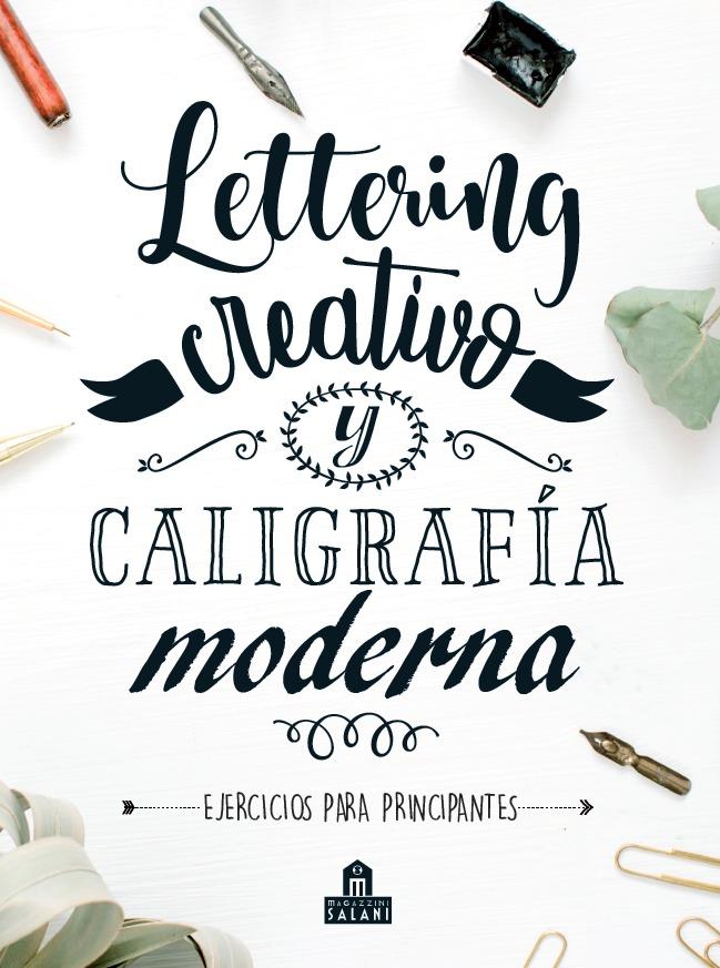 Lettering creativo y caligrafía moderna: portada