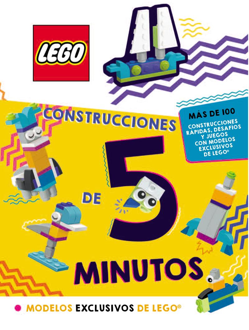 LEGO. CONSTRUCCIONES DE 5 MINUTOS: portada
