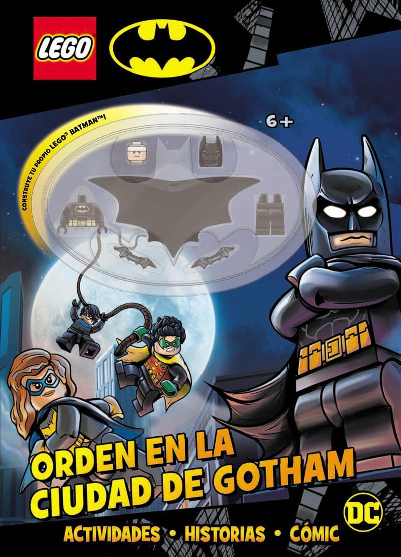 BATMAN LEGO. ORDEN EN LA CIUDAD DE GOTHAM: portada
