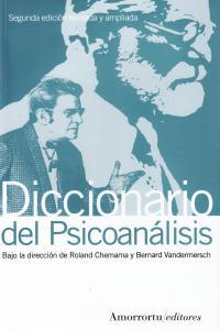 DICCIONARIO DEL PSICOANáLISIS - 2A EDICIóN: portada