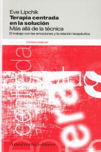 TERAPIA CENTRADA EN LA SOLUCIóN: portada