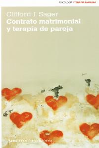 CONTRATO MATRIMONIAL Y TERAPIA DE PAREJA (2A ED): portada