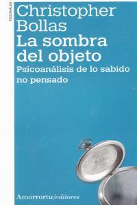LA SOMBRA DEL OBJETO (2A ED): portada