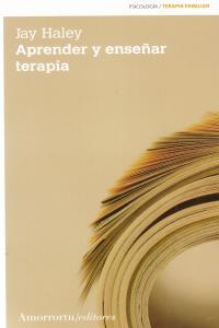 APRENDER Y ENSEñAR TERAPIA (2A ED): portada