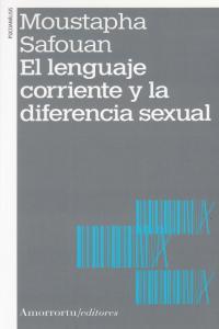 EL LENGUAJE CORRIENTE Y LA DIFERENCIA SEXUAL: portada