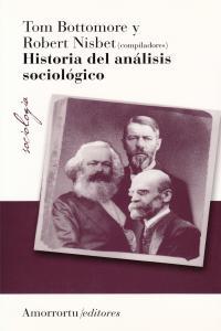 HISTORIA DEL ANáLISIS SOCIOLóGICO: portada