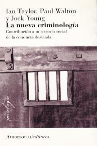 NUEVA CRIMINOLOGIA,LA: portada