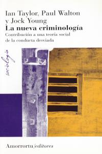 LA NUEVA CRIMINOLOGíA: portada