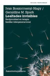 LEALTADES INVISIBLES: portada