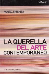 LA QUERELLA DEL ARTE CONTEMPORáNEO: portada