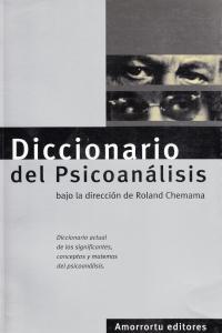 DICCIONARIO DEL PSICOANáLISIS: portada