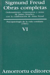 OBRAS COMPLETAS. VOLUMEN 6: portada
