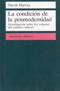 LA CONDICIóN DE LA POSMODERNIDAD: portada