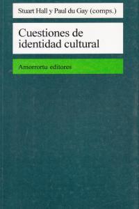 CUESTIONES DE IDENTIDAD CULTURAL: portada