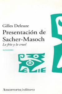 PRESENTACIóN DE SACHER-MASOCH: portada