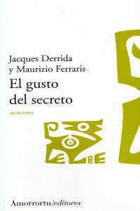EL GUSTO DEL SECRETO: portada