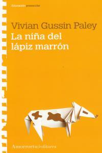 LA NIÑA DEL LÁPIZ MARRÓN: portada