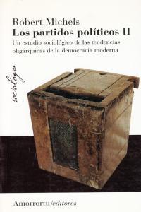 LOS PARTIDOS POLíTICOS (VOL II): portada