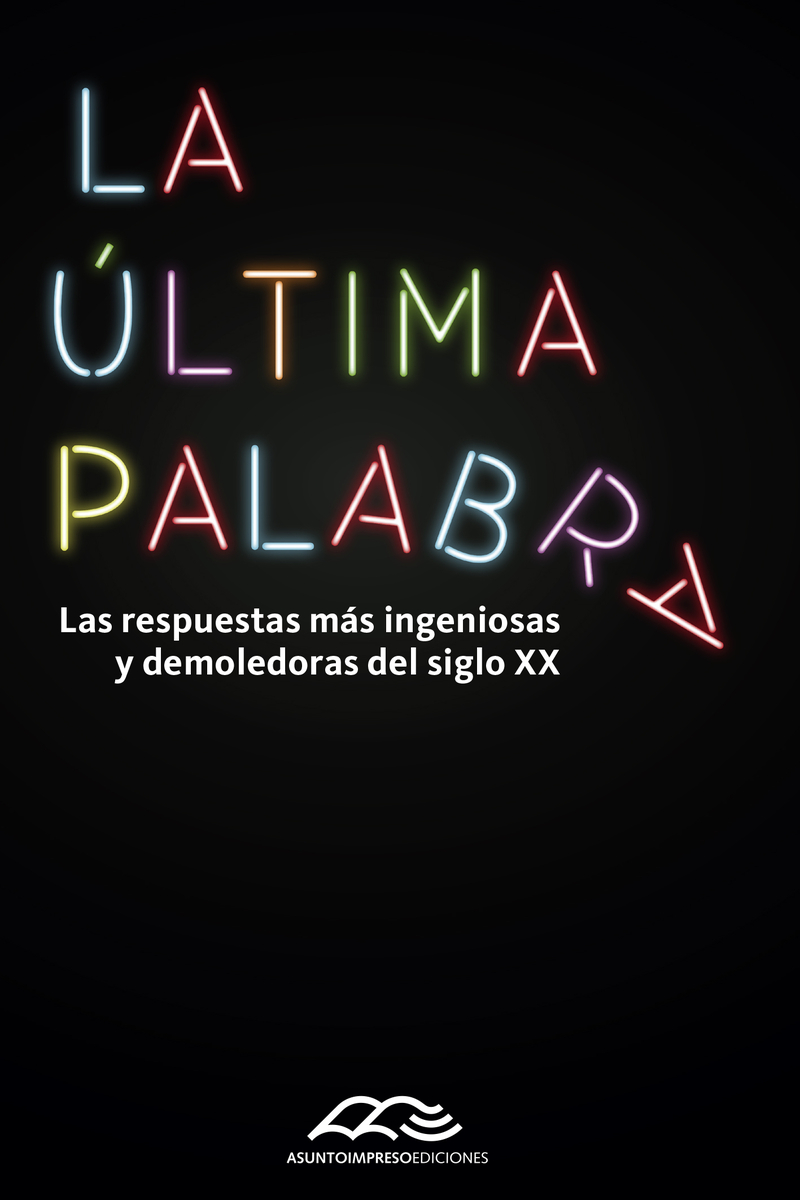 ULTIMA PALABRA,LA: portada