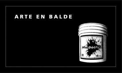ARTE EN BALDE: portada