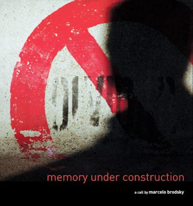 MEMORY UNDER CONSTRUCTION: portada