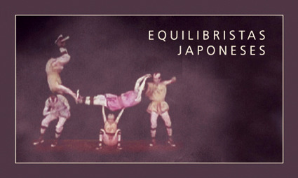 EQUILIBRISTAS JAPONESES: portada
